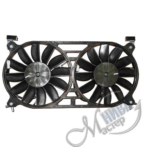 Вентилятор охлаждения радиатора в сб. 21214